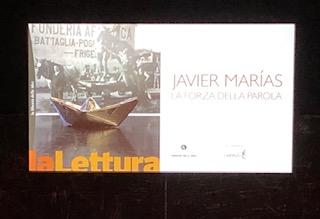 Javier Marìas vince come migliore libro 2018 con Berta Isla