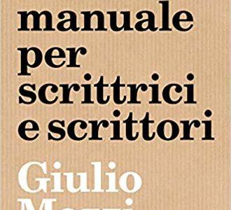 Giulio Mozzi, Oracolo manuale per scrittrici e scrittori