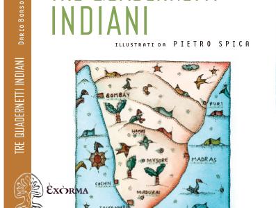 Dario Borso. Tre quadernetti indiani