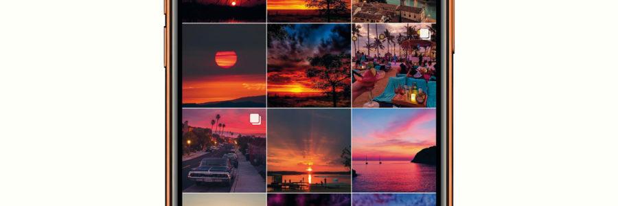 Anteprima Paolo Landi, Instagram al tramonto