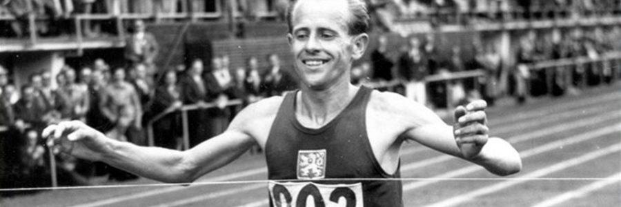 Emil Zatopeck, la locomotiva umana