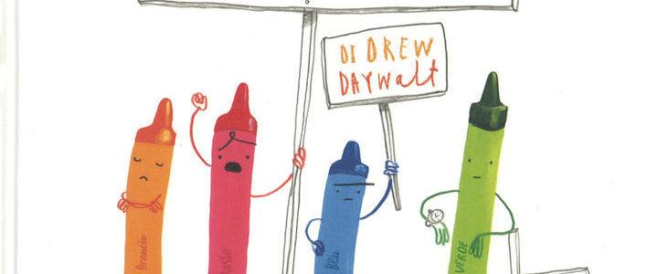 """Drew Daywalt e Oliver Jeffers. """"Pastelli ribelli"""" e """"Pastelli alla riscossa"""""""
