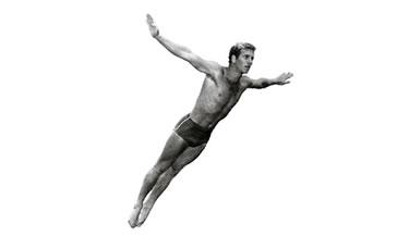 Klaus Dibiasi, l'angelo biondo della piattaforma