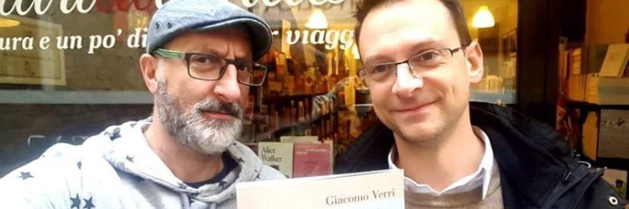 "Antonello Saiz racconta ""Un altro candore"" di Giacomo Verri"