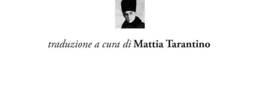 """Il """"Poema della fine"""" di Vasilisk Gnedov spiegato da Mattia Tarantino"""