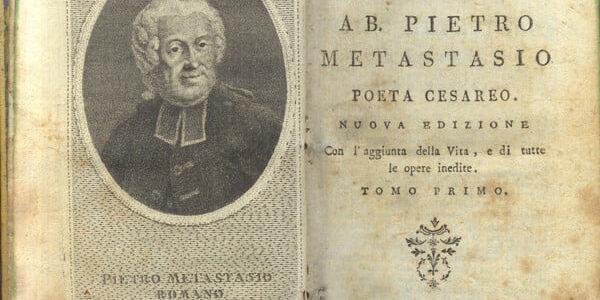 Pietro Trapassi, ovvero Metastasio